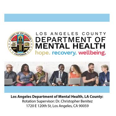 Sở Sức khỏe Tâm thần Los Angeles