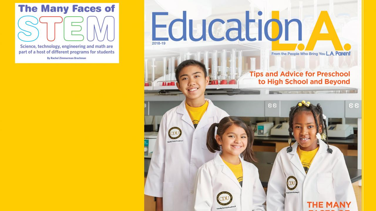 LA Parent cover article