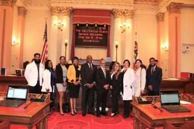 Napakagandang welcome sa CA State Senate!